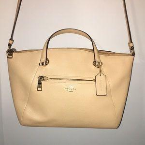 Coach purse crossover bag